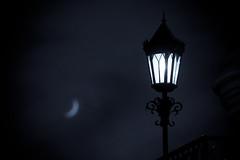 'twas the night of halloween (lenslet) Tags: moon night streetlamp eos5d2 ef70300mmf456lisusm