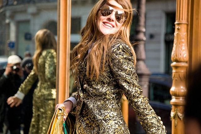 anna dello russo balmain coat vogue phil oh