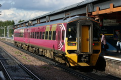158 777 (hugh llewelyn) Tags: class 158 alltypesoftransport