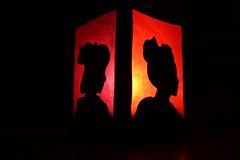 Mamehana Candle (GionGeiko (Fujiko)) Tags: candle maiko geiko gion lantern mamehana