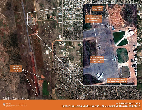 Recent Expansion of SAF-Controlled Airbase