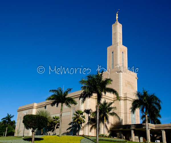 Santo Domingo Dominican Republic Vintage LDS Temple Prints -5689