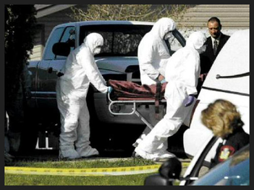 Jasmine Richardson Crime Scene Photos Shortly after their arrest Jasmine Richardson Crime Scene Photos