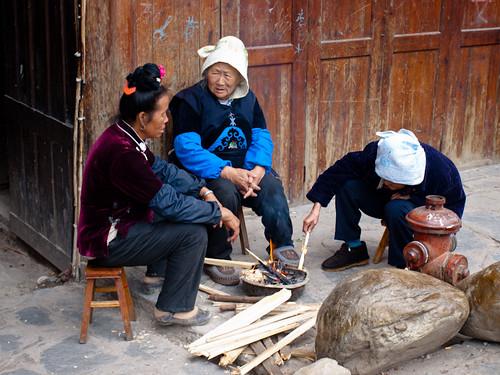 Xijiang - señoras miao