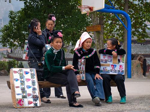 Xijiang - al acecho del turista