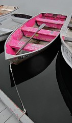 Boothbay (NorthIsUp) Tags: pink boat maine boothbay s95 60225mm canons95