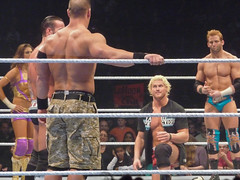 Dolph Ziggler gets cornered