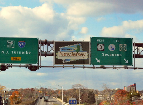 NJ Turnpike Welcome