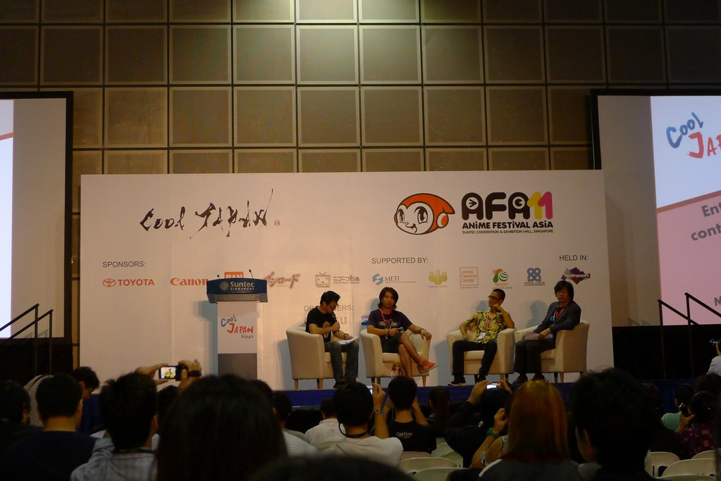 Anime Festival Asia 2011 Cool Japan Forum Event Report
