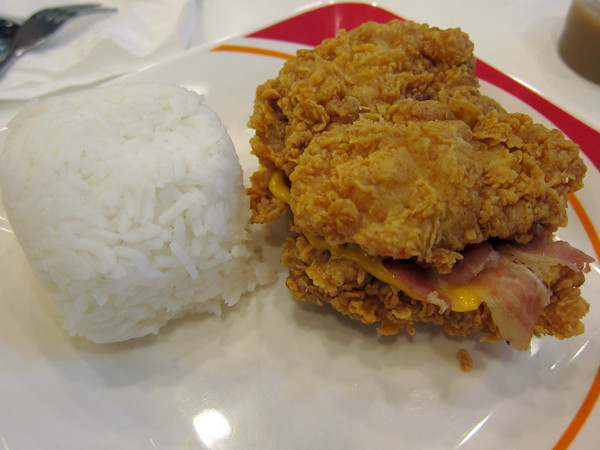 KFC Double Down Zinger