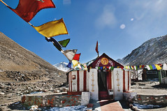 Prayers for the Passes - Chang La Ladakh (Anoop Negi) Tags: portrait india army temple photography for la photo media image photos delhi indian south religion bangalore creative pass buddhism images best po kashmir roadside mumbai hindu hinduism leh chang ladakh jammu negi pango
