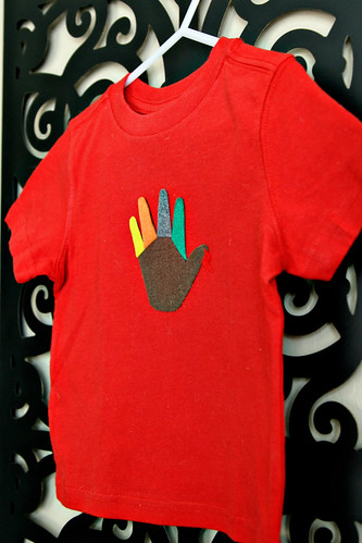 Turkey Handprint Shirt 13