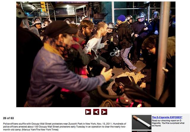 OWS Arrests