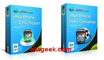 uRex iPhone DVD Video Converter pack 2011 prod