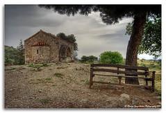 Agios Georgios Galatas Church in Agia Triada, Crete,  HDR