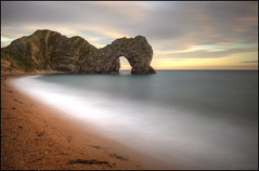 Last of the Durdle Door pictures* (Ben Locke (Ben909)) Tags: longexposure sea beach coast dorset durdledoor nd110