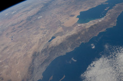 U.S. and Mexico (NASA, International Space Station, 11/16/11) (NASA's Marshall Space Flight Center) Tags: california mexico unitedstates lasvegas nevada nasa lakemead coloradoriver baja saltonsea santacatalina internationalspacestation losangelesbasin stationscience crewearthobservation gulfofcortez sanclementeislands stationresearch