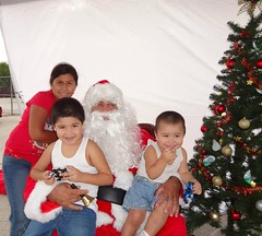 "Santa with Precinct 1 kids • <a style=""font-size:0.8em;"" href=""http://www.flickr.com/photos/65105168@N06/6377190691/"" target=""_blank"">View on Flickr</a>"