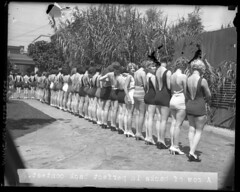 National Chiropractic Association\'s Perfect Back Contest, 1927