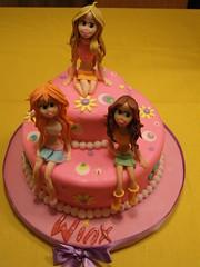 fatma özmen metinel (Fatma Ozmen Metinel Cake Designer,Educator) Tags: cake winx gırls fatmaözmenmetinel