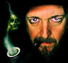 Smoke Skull Blend (ADz Flickr) Tags: skull pipes pipe smoking smoker pipesmoker pipesmoking
