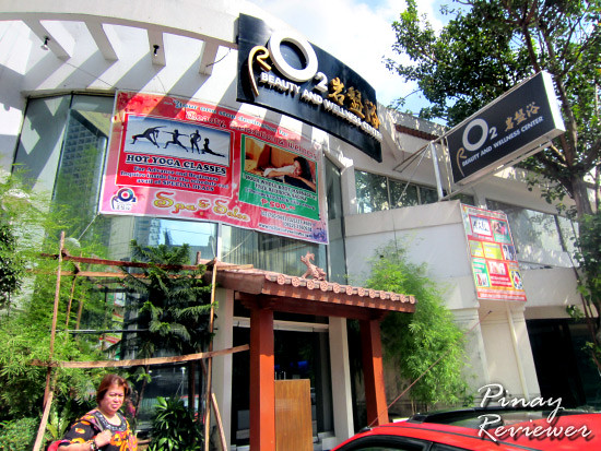 rO2 Beauty and Wellness Center along Jupiter Street in Makati City