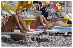 (timurdva) Tags: girls beach girl legs pentax montenegro k5