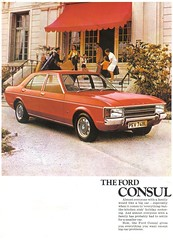 1973 FORD CONSUL BROCHURE COVER (Midlands Vehicle Photographer.) Tags: ford cover brochure 1973 consul