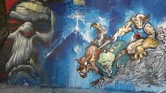Mumm-Ra y los Thundercats (emy mariani) Tags: graffity thundercats mummra