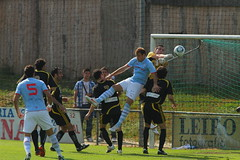"Celta 1 Montañeros 1 <a style=""margin-left:10px; font-size:0.8em;"" href=""http://www.flickr.com/photos/23459935@N06/7017990035/"" target=""_blank"">@flickr</a>"