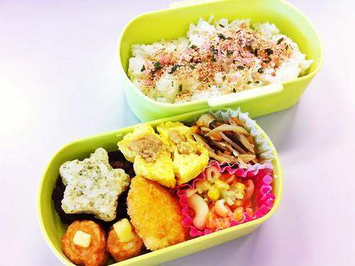 今日のお弁当 No.197 – 焼鮭
