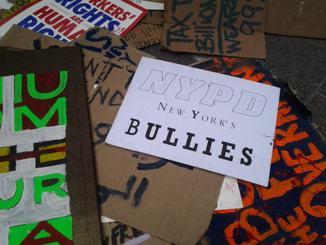 occupy wall street vivir latino