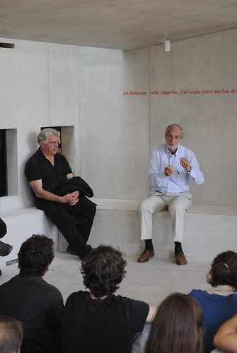 Renzo Piano Gives a Talk at Ronchamp