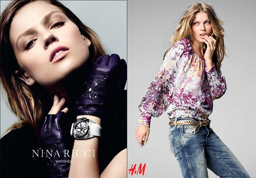 Masha-Novoselova-campañas-Nina-Ricci-H&M