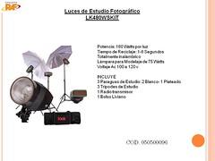 Luces de Estudio Fotográfico LK480WSKIT (RAF TU MUNDO DIGITAL) Tags: digital umbrella de luces el estudio salvador grupo tu mundo raf equipo sombrillas tripodes