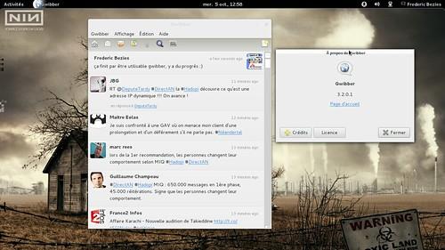 gwibber 3.2.0.1 sous Archlinux... Ben oui !