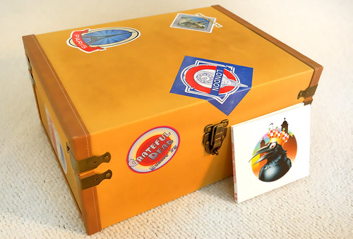 Grateful Dead - Europe '72 Tour suitcase