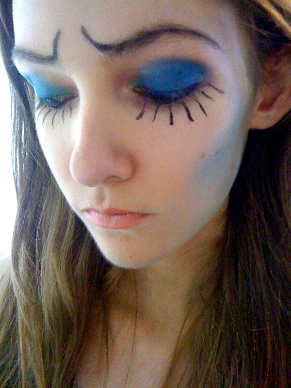 Halloween Make Up: Corpse Bride (Miss Fay Heather) Tags: halloween makeup corpsebride