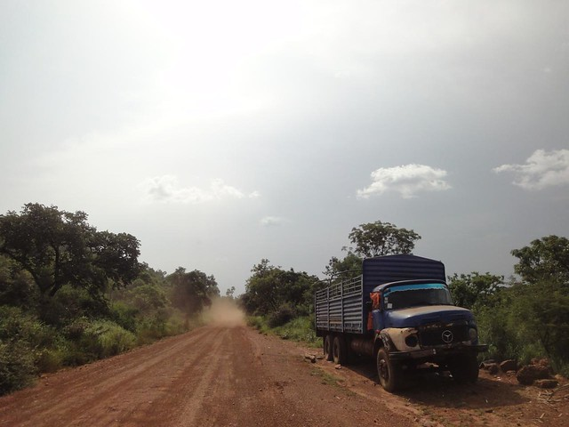 Road from Juba to border with Congo