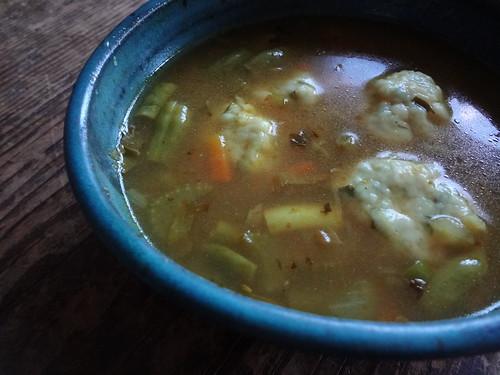 2011.10_herbed dumpling soup
