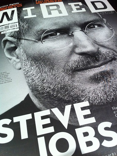 Wired Italia non si accorge che Steve Jobs è morto