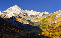 Autumnal Crescendo (Fort Photo) Tags: morning autumn sun mountain snow mountains fall nature landscape rockies gold nikon alpine valley rockymountains aspen snowmass 1610 singleexposure clff nothdr loveyoumom d700 nikonafs24120mmf4gedvr