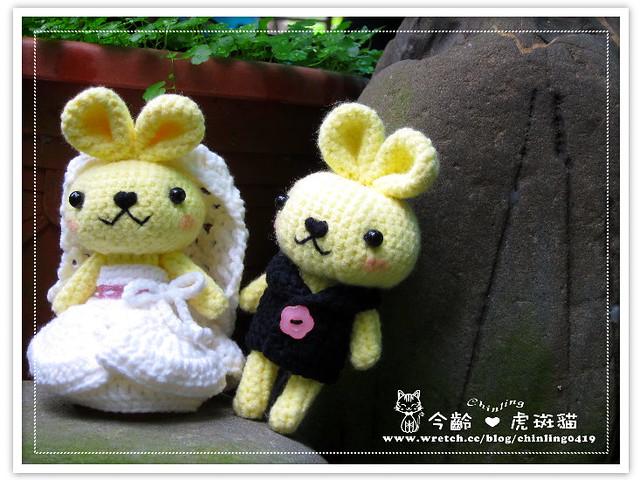 兔子.婚禮娃娃4