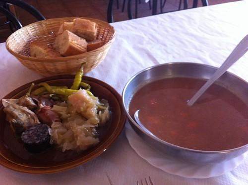Pobes | Mesón Cantabria | Alubias
