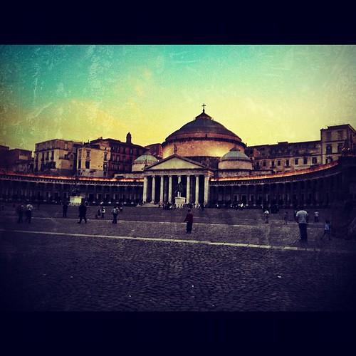 Piazza del Plebiscito #naples