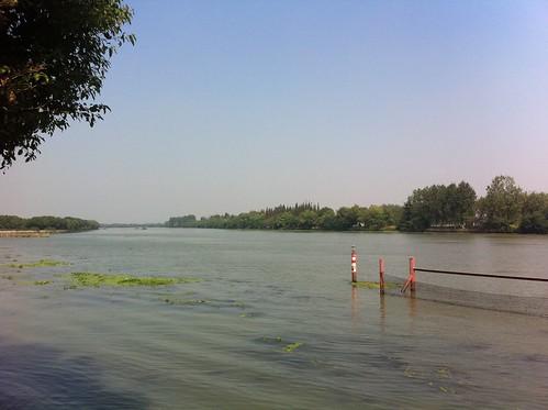 The Mao river at Sun Island
