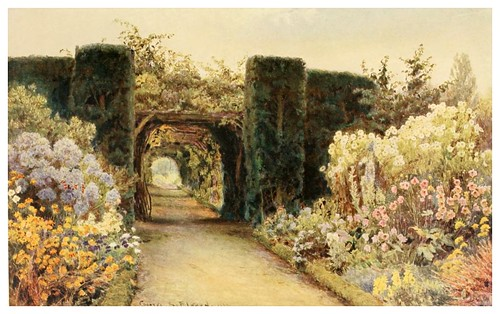 014- La pergola en Great Tangley-Some English gardens 1904- George S. Elgood