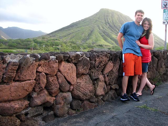 Kenny and Karen in Oahu