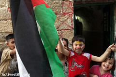 Release of Palestinian prisoners, Jerusalem, 18.10.2011