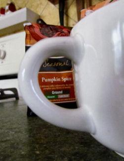 Pumpkin Coffee in Focus